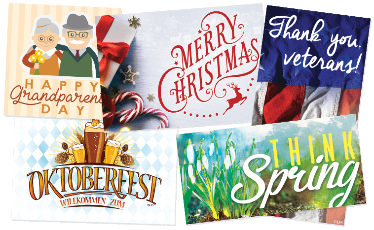 Examples of Seasonal Clip Art