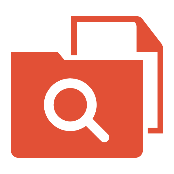 Search files icon