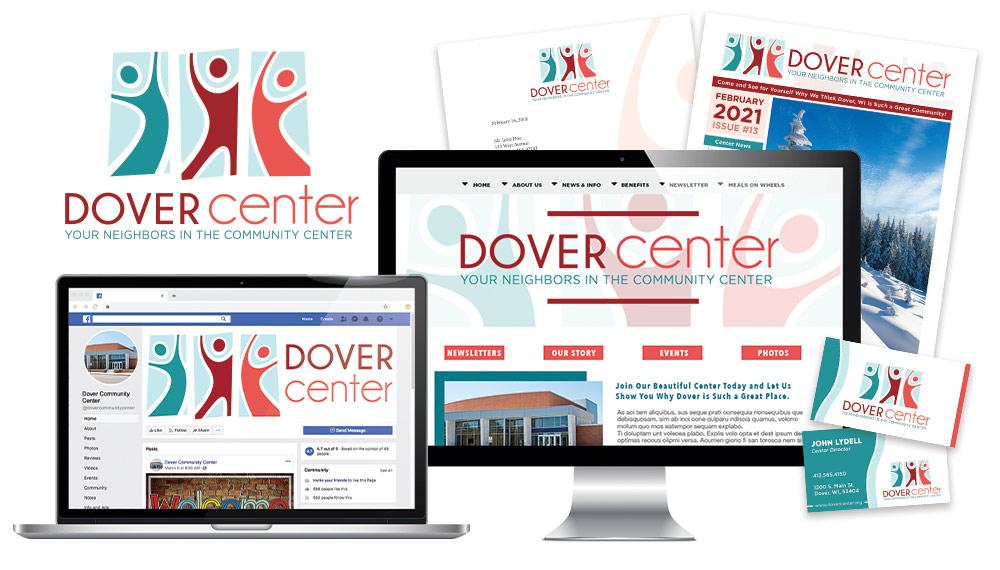 Dover Center Branding Design