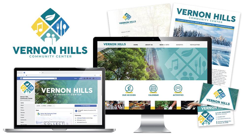 Vernon Hills Center Branding Design