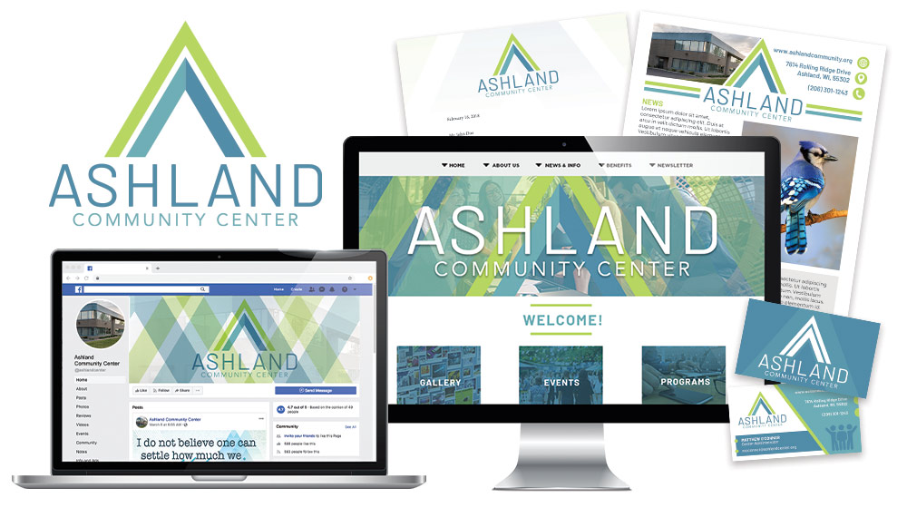 Ashland Center Branding Design